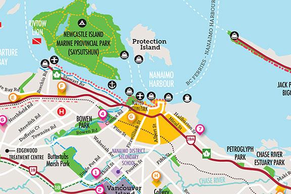 Nanaimo City Map